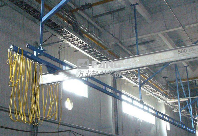 铝合金刚性组合自立式悬挂起重机